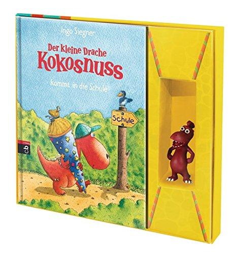 """Der kleine Drache Kokosnuss – Die Geschenk-Box """"Oskar"""" (Set): Buchset mit 3D Figur"""