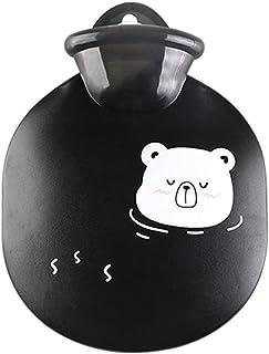 TZSMRSD Cute Mini Cartoon Warm Baby Oval Shape Plastic Hot Water Bottle Hand Warmer Winter Warming Bag Multiple Colors to ...