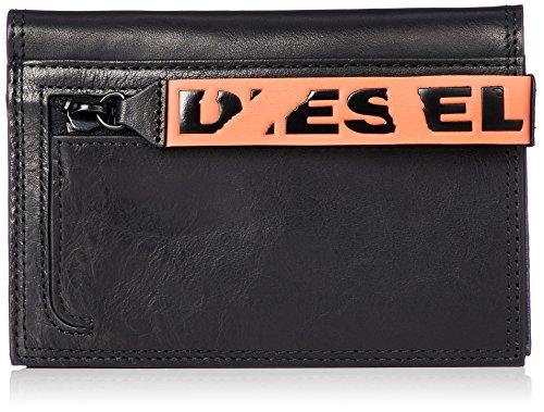Diesel Herren BARRAKUDA N-PASSME Geldbörse, schwarz, Einheitsgröße