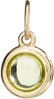 Helen Ficalora Birth Jewel Cabochon Charm with Peridot