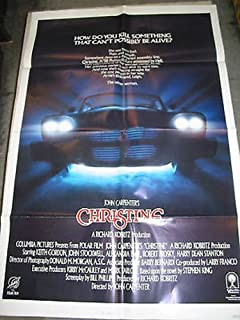 CHRISTINE / ORIG. INT'L ONE-SHEET MOVIE POSTER (JOHN CARPENTER)