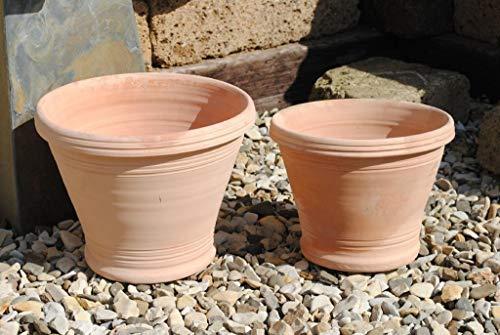 Kunert-Keramik Terracottakübel,konisch,spanische Handarbeit,29cm,%reduziert%