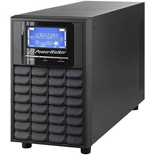 PowerWalker VFI 2000C LCD gruppo di continuità (UPS) 2000 VA 4 presa(e) AC Doppia conversione (online)