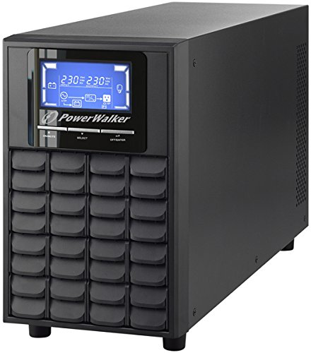 POWERWALKER VFI 2000C LCD 2000VA 1600W Online USV Tower Doppelwandler SNMP Slot