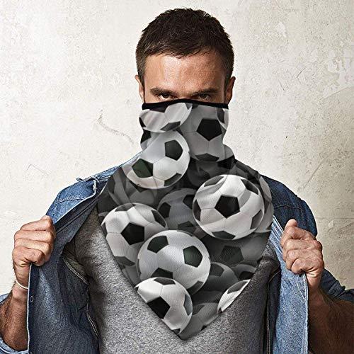 Double Cheese Fußball Gesichtsschutz Abdeckung Schal Hals Gamasche Wärmer Winddicht Outdoor Skifahren Gesicht Sportschutz Schwarz