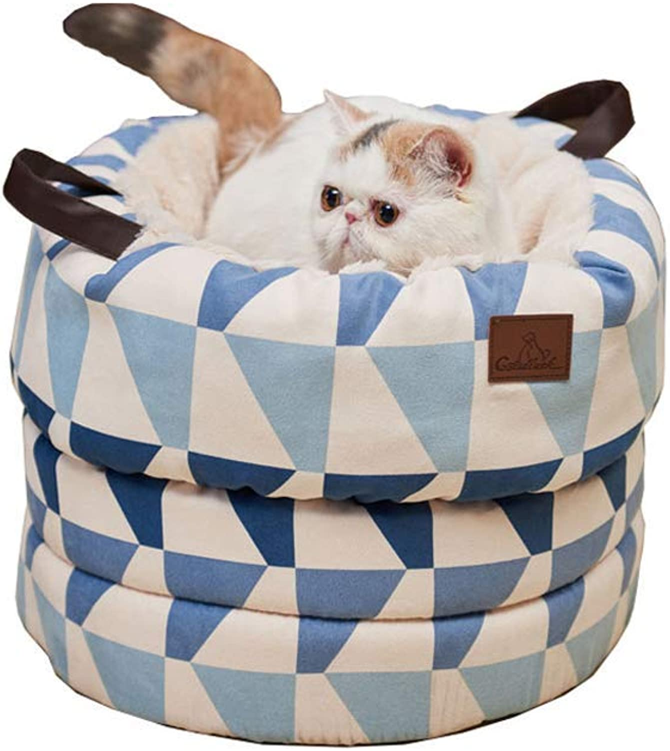 Pet Sofa Bed, Warm Winter Pets, Small Kennel Cat House, Deep Sleep Cat Nest (Size   A)