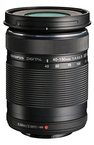 Olympus ED 40-150mm f:4.0-5.6 R Zoom-Objektiv (Schwarz) für Olympus und Panasonic Micro 4/3-Kameras