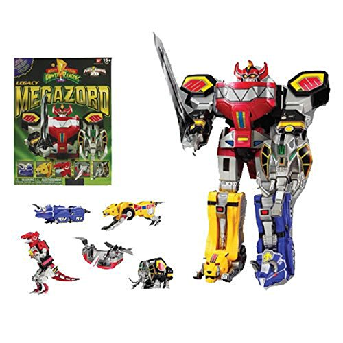 Power Rangers Mighty Morphin Legacy Dino Megazord Action Figure