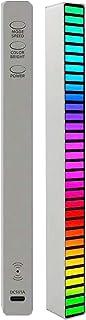 KOPOU RGB Voice 2021, Geactiveerd pick-up ritme licht,Creatieve kleurrijke geluidscontrole omgevingslicht, muziek niveau i...