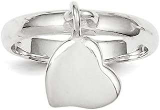 Best heart dangle ring Reviews