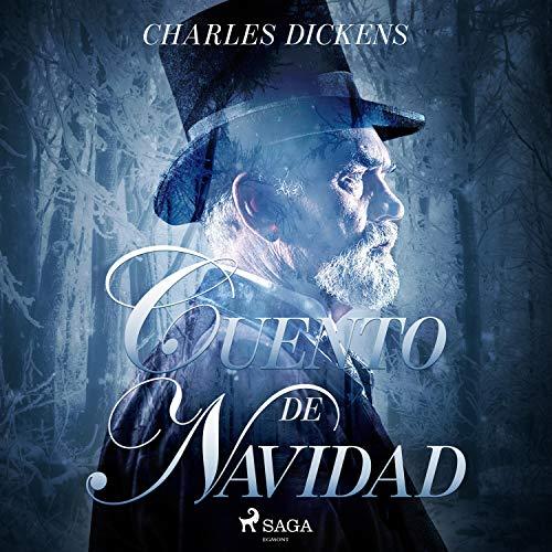 Diseño de la portada del título Cuento de Navidad