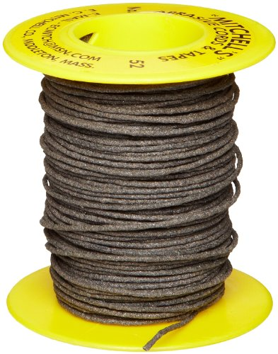 Mitchell Abrasives 52 Round Abrasive Cord, Aluminum Oxide 150 Grit .055