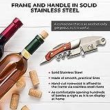 Immagine 1 rapecott cavatappi professionale per vino