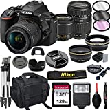 Nikon D5600 DSLR Camera with 18-55mm VR + Tamron...
