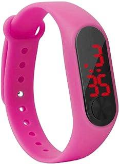 Yihaifu Materiali Schermo LED Polso Bambini Thin Digital Orologio da Polso Student Fitness Wristband Boy Girl Sport