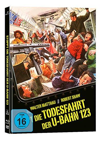 Stoppt die Todesfahrt der U-Bahn 1-2-3 - Mediabook  (+ DVD) [Blu-ray]