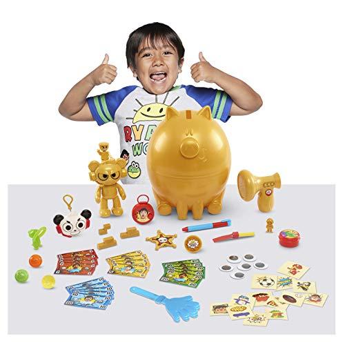 Ryans World Deluxe Golden Piggy Bank Egg Surprise