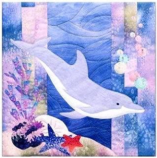 McKenna Ryan Quilt Pattern, Sea Breeze Collection - Block #4 Tweedle Dee - Dolphin (12