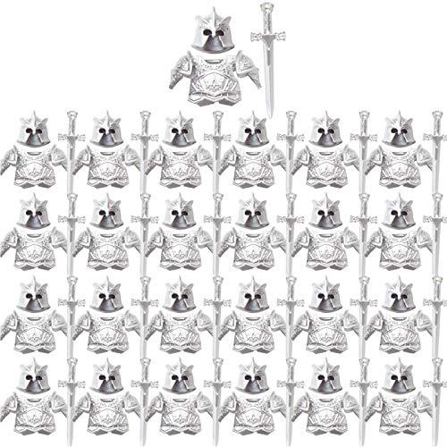 YOU339 Figura de arma compatible con figura de Lego, 75 piezas de construcción medieval en estilo militar.