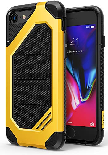 Ringke Max Case Designed for iPhone SE 2020 (2nd Generation) Compatible with iPhone 8 (2017) and iPhone 7 (2016) 4.6' Heavy Armor Strength Resistant Protective Phone Cover - Bumblebee