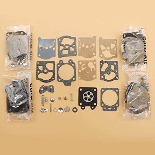 HaoYueDa Alta qualità 5 Pz/Lotto Kit Membrana Carburatore Misura per Husqvarna 36 39 40 55 244R 245R 132 Homelite Motosega Walbro K20WAT K20WT K20WTA H20WT