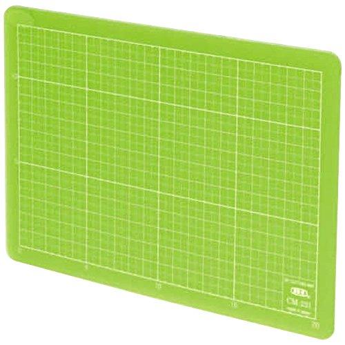 エヌティー カッターマット オレフィン系樹脂 A5 クリアグリーン CM-22i-G