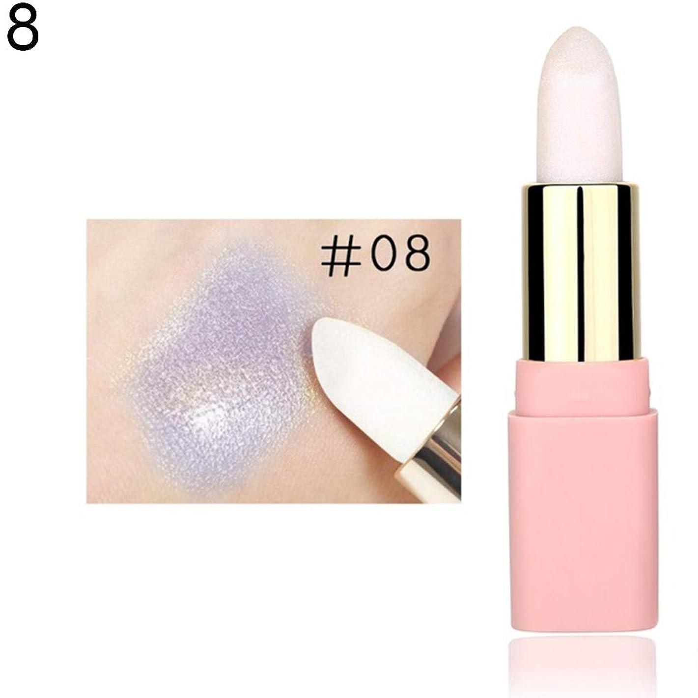 wewa98698 LULAA Glitter Pearl Lip Cream Lipstick Long Lasting Natural Moisturizer Makeup - 8#