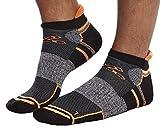 Leif Nelson Damen und Herren Sportsocken Sneaker Socken schwarz 10 x Paar Füßlinge Kurze Strümpfe für Sport Freizeit Lange Haltbarkeit Baumwolle-Anteil Hohe Qualität SO6 47/50