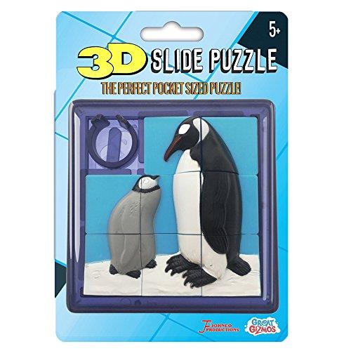 4M- Puzzles de Diapositivas de pingüinos (Gizmos A03660)