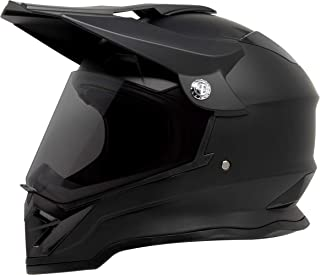 GDM DK-650 Dual Sport Offroad Dirt Bike MX Motocross Helmet