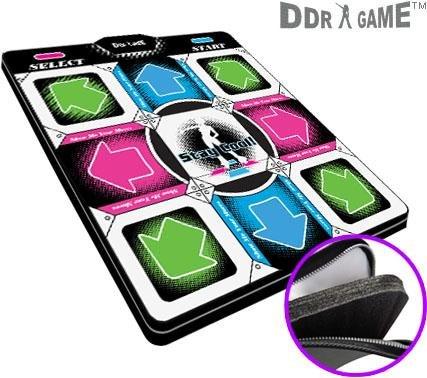 Dance Dance Revolution DDR Super Deluxe PS1 / PS2 dance pad w/1 in' foam Version 2.0