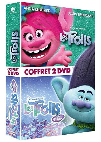Coffret les trolls 2 films : les trolls ; les trolls de noël [FR Import]