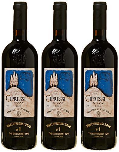 """Michele Chiarlo - Barbera D'Asti Superiore """"I Cipressi"""" Nizza - 3 Bottiglie da 0,75 lt."""