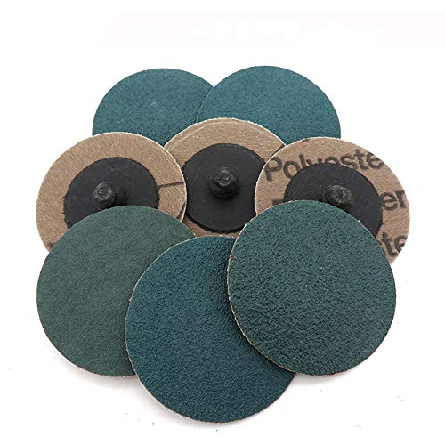 Lowest Prices! Xucus 2-50Pcs 2 Inch 50mm Sanding Roloc Grinding Discs 60 80 120 Grit Roll Lock Surfa...