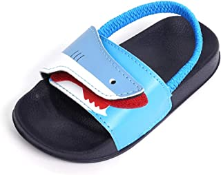 Toddler Boys & Girls Slides Sandals Kids Outdoor Beach Pool Water Shoes