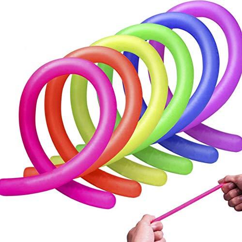 FILWO 3 Stück Bunte sensorische Fidget Stretch Spielzeug, Sensory Toy Stretchy...