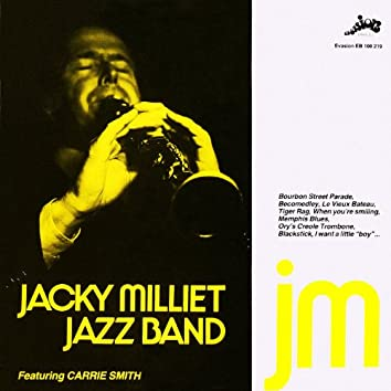 Jacky Millet Jazz Band Meet Carrie Smith (Evasion 1979)