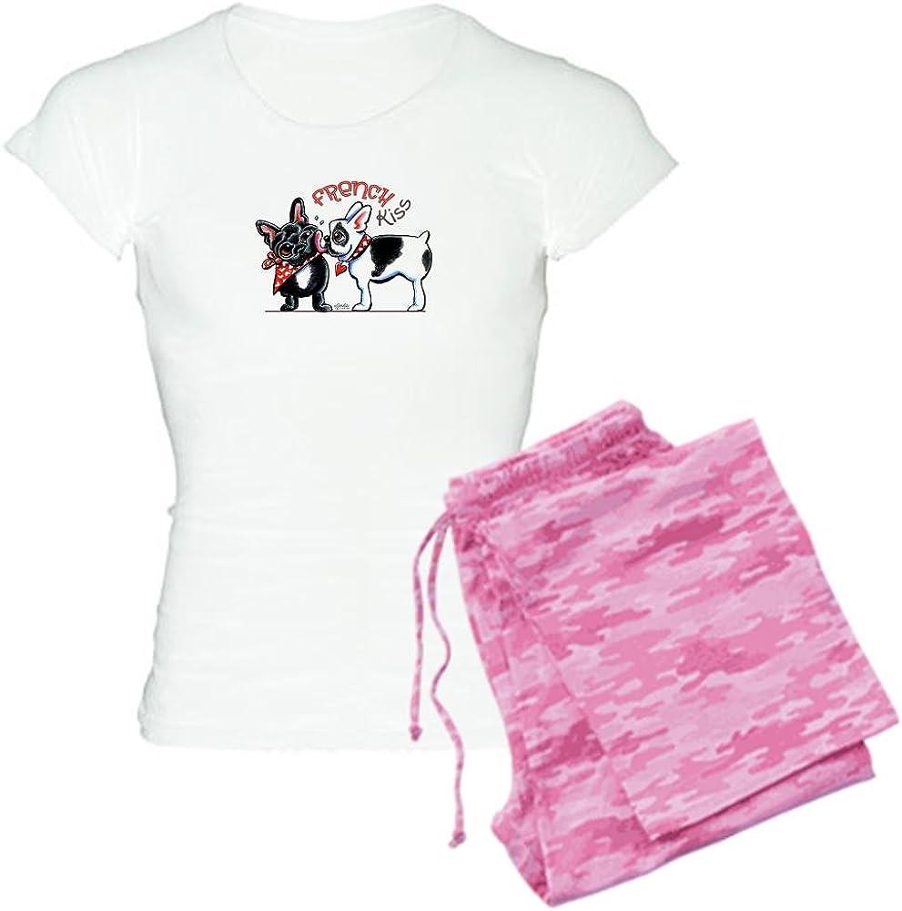 Max Sacramento Mall 88% OFF CafePress French Kiss Women's PJs Pajamas Light