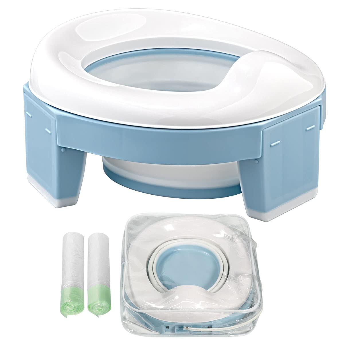 Portable Potty Selling and selling for Toddler Kids Max 54% OFF Seat Car T Foldable Travel