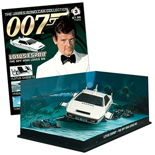 Eaglemoss 007 James Bond Car Collection Nº 3 Lotus Esprit (The spy who Loved me)