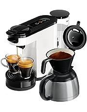 Philips Senseo HD6592/00 Switch 2'si 1 arada kahve makinesi, beyaz
