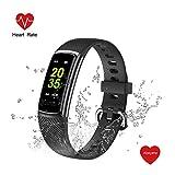 Abeyete Orologio Fitness Tracker Cardiofrequenzimetro Monitor e monitoraggio del Sonno...