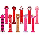 50 Valentine's Day Bookmark Ruler for Happy Valentine Day Teacher Prizes Classroom Students 10 Styles Holiday Giveaway Goodie Gift, Classroom Rewards, Heart Valentine Party Favor
