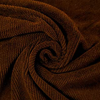 Rust Corduroy Fabric