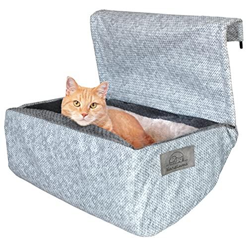 KaraLuna Premium Katzenbett für die Heizung I Katzenliege für Heizkörper I Heizungsbett
