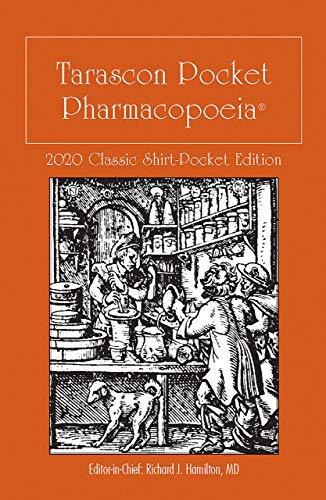 Tarascon Pocket Pharmacopoeia 2020 Classic Shirt-Pocket Edition