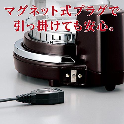 TWINBIRDサイフォン式コーヒーメーカーブラウンCM-D854BR