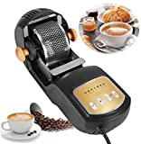 Moongiantgo Electric Coffee Roaster Machine 1600W Hot Air 300g Coffee Beans Roasting Baking Machine 7 Adjustable Baking Levels for Cafe Shop Home Use Household Grain Drying (110V US Plug)