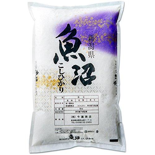 新米 新潟県産 魚沼産コシヒカリ 産直 白米 5kg 令和元年産