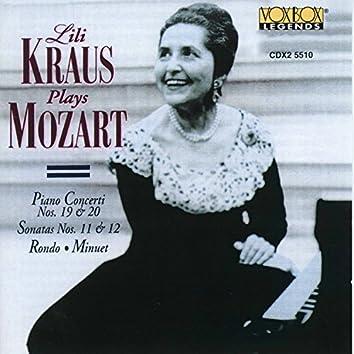 Mozart: Piano Concertos Nos. 19 and 20 & Piano Sonatas Nos. 11 and 12